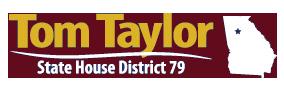 Tom Taylor | Georgia State House Representative – District 79