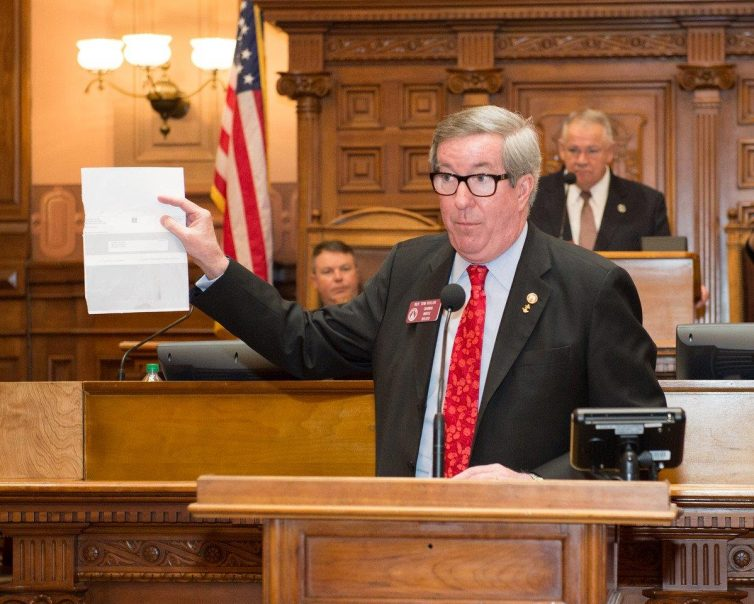Tom Taylor evaluated and voted on hundreds of bills during the 2015-2016 session of the Georgia General Assembly